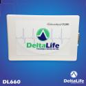 DL660 - Eletrocardiógrafo ECG USB VET com 12 derivações