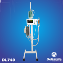 DL740 - Aparelho de anestesia inalatória com ventilação com pedestal - Veterinário