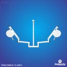 Foco  Duplo -  24 LEDS
