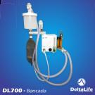 DL700 - Aparelho de anestesia bancada sem ventilação - Veterinário