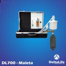 DL700 - Aparelho de anestesia na maleta sem ventilação - Veterinário