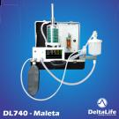 DL740 - Aparelho de anestesia inalatória com ventilação na maleta - Veterinário