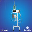 DL760 - Aparelho de anestesia inalatória com silicone - Veterinário